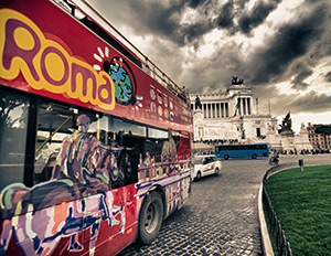 Buses in Rome